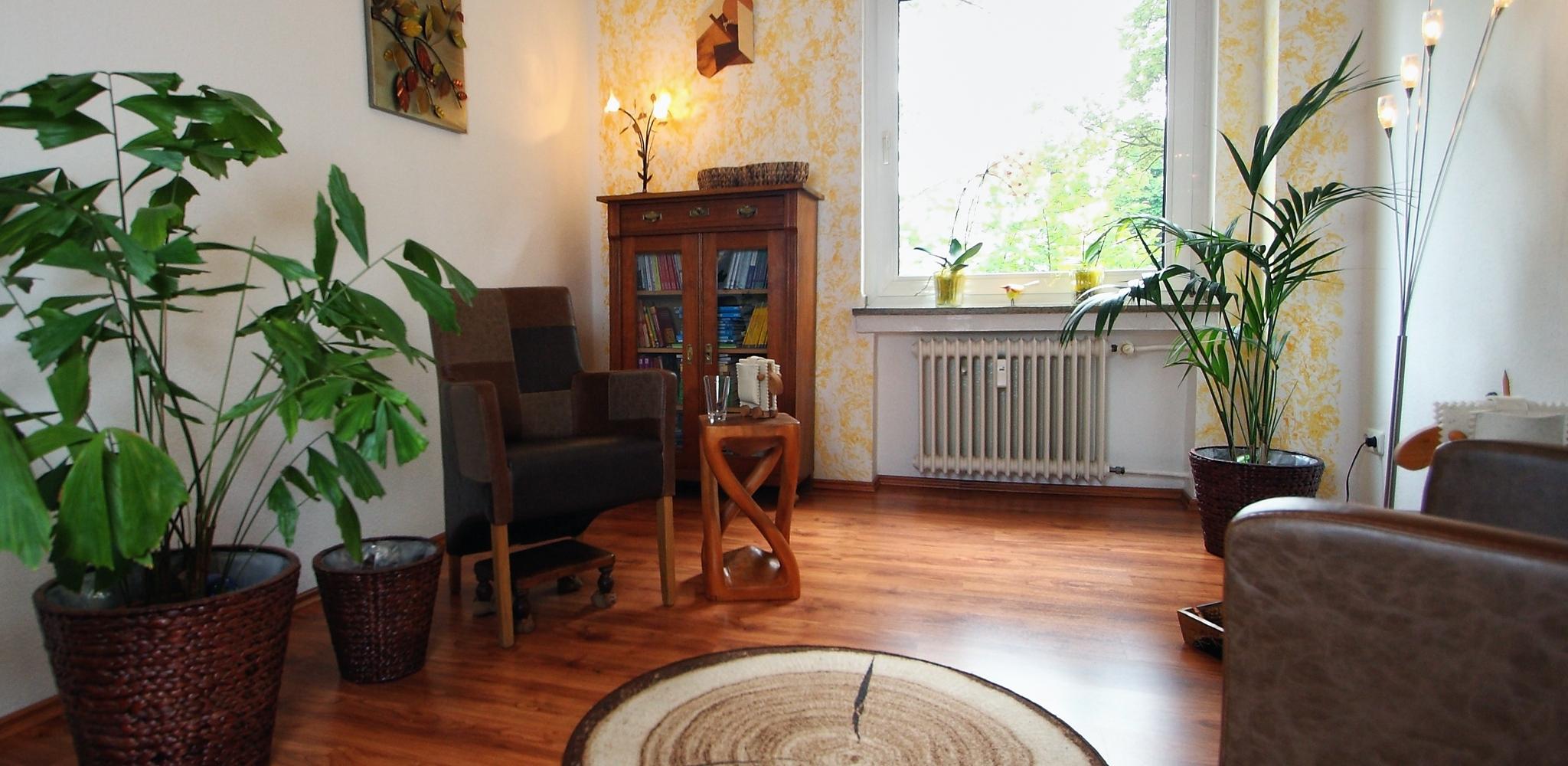 Praxisraum Psychotherapeutische Praxis − Verhaltenstherapie